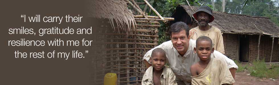 Meeting the people of the Congo has made an indelible difference in my life.